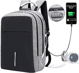 Mochila para Laptop, Backpack Laptop con USB Puerto de Carga