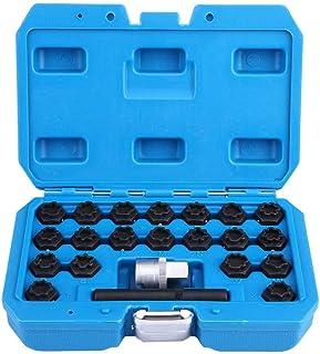 مجموعة مفاتيح بصمولة قفل العجلات، مجموعة مفاتيح قفل عجلة من سبائك الصلب للسرقة