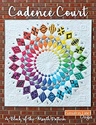 Cadence Court paper pieced quilt pattern