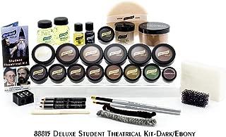 Graftobian Student Theatrical Makeup Kit Deluxe - Dark/Ebony