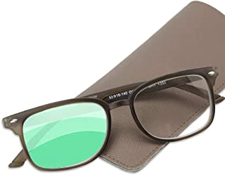 Progressive Reading Glasses Men & Women - Multifocal Reading, Computer & Surroundings Lense