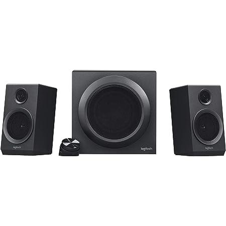 Logitech Z333 2 1 Lautsprecher System Mit Subwoofer Computer Zubehör
