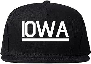 Kings Of NY Iowa USA State Snapback Hat