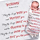Baptism Gifts for Boys | Baptism Gifts for Baby Girl | Baptism Blanket | Christening Gifts for Girls/Boys | Christian Gifts for Kids | Religious Gifts for Kids | Christening Blanket | Baptism Gift