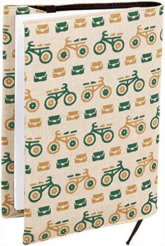 宮本 ブックカバー 『レトロ小紋てぬぐいのブックカバー』 30×16cm(文庫本用) むかえにゆくよ 07586
