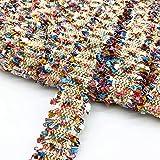 2 yardas 3 cm de costura de encaje de costura Vintage bordado de tela de cinta de encaje vestido de traje hecho a mano adornos de costura decoraci¨®n de boda-03
