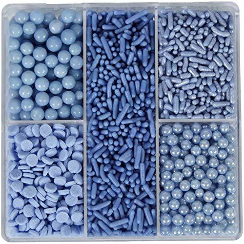 Wilton Sprinkles Tackle Box 3.35oz-Blue