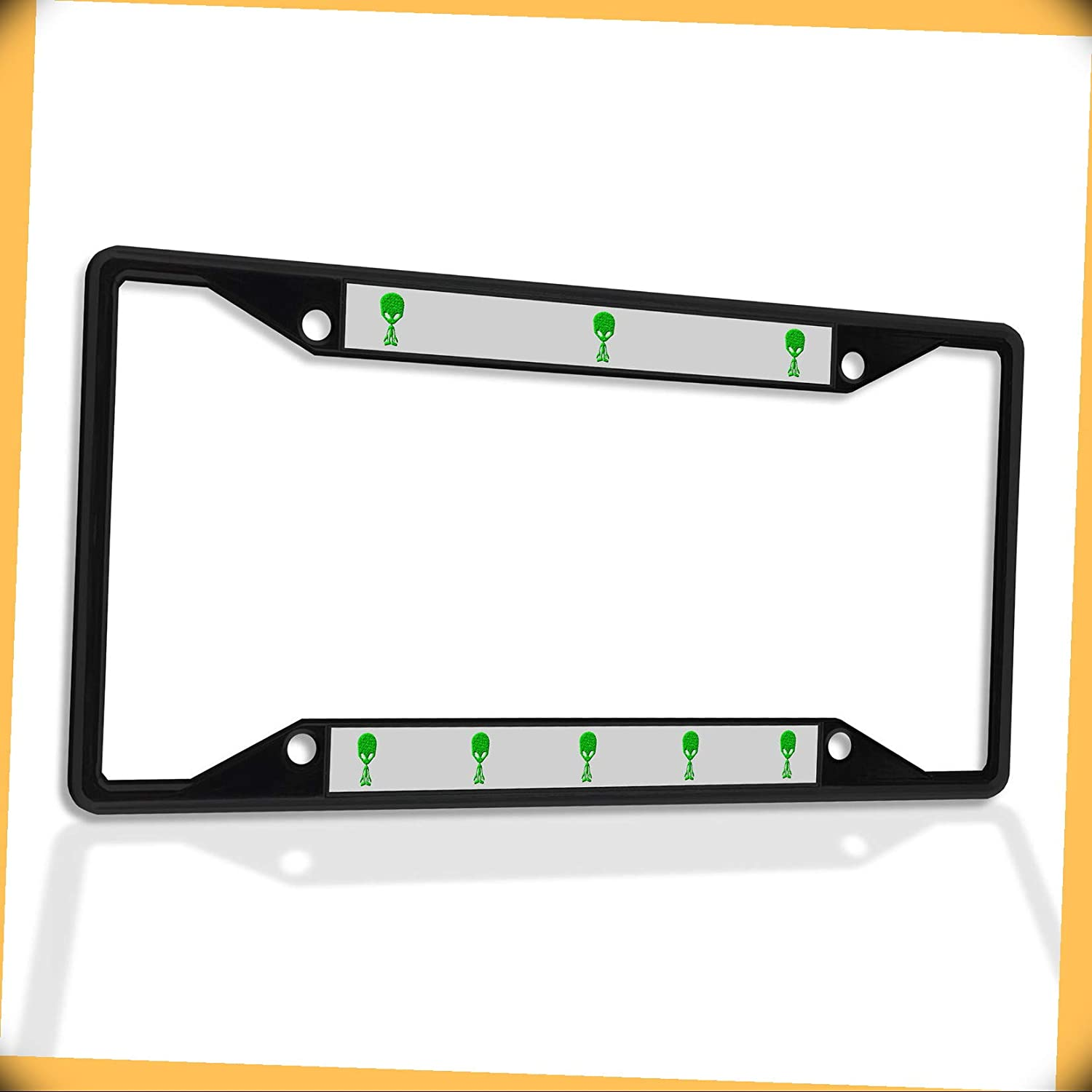New Metal sold out Weekly update Aluminum Alloy Black B4K Frame License Plate Insert Al