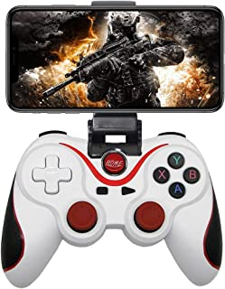 Mobile Game Controller for Android, Megadream Wireless Key Mapping Gamepad Joystick for PUBG & Fotnite & COD, Compatible for Samsung Galaxy LG HTC Other Phone Tablet