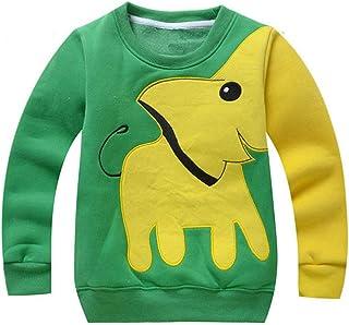 Wamvp Kleine jongens jumpers kinderen olifant truien sweatshirt trui kleding casual tops katoen