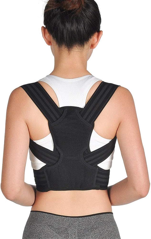 Adult Back Posture Corrector, Full Back Brace Shoulder Posture Correction for Upper and Lower Back, Brace to Improve Slouch,Neck Pain,L