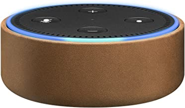 Amazon Echo Dot Case (fits Echo Dot 2nd Generation only) - Saddle Tan Leather