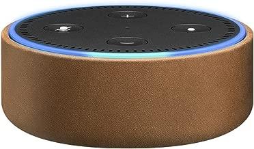 Amazon Echo Dot Case (fits Echo Dot 2nd Generation only) - Saddle Tan Leather