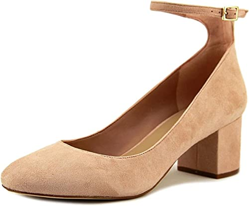 ALDO femmes Clarisse Suede Closed Toe Ankle Strap Classic Pumps, rose, Taille 6.0