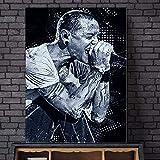 JYWDZSH Leinwanddruck Linkin Park Chester Bennington