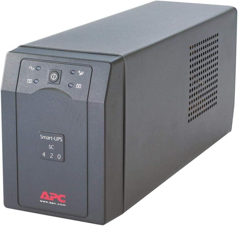 APC Smart-UPS SC 420VA - UPS - 420 VA - UPS Battery - Lead Acid (SC420I)