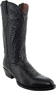 Soto Boots Mens Classic Round Toe Cowboy Boots H7001
