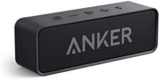 Upgraded, Anker Soundcore Bluetooth Speaker with IPX5 Waterproof, Stereo Sound, 24H Playtime, Portable Wireless Speak...