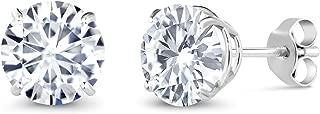 moissanite earrings on sale