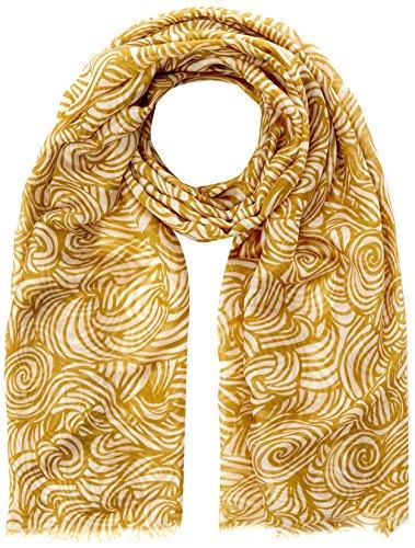 Stefanel Damen Stampa All Over 90X180 Schal, Multicolore (Giallo 5160), Einheitsgröße