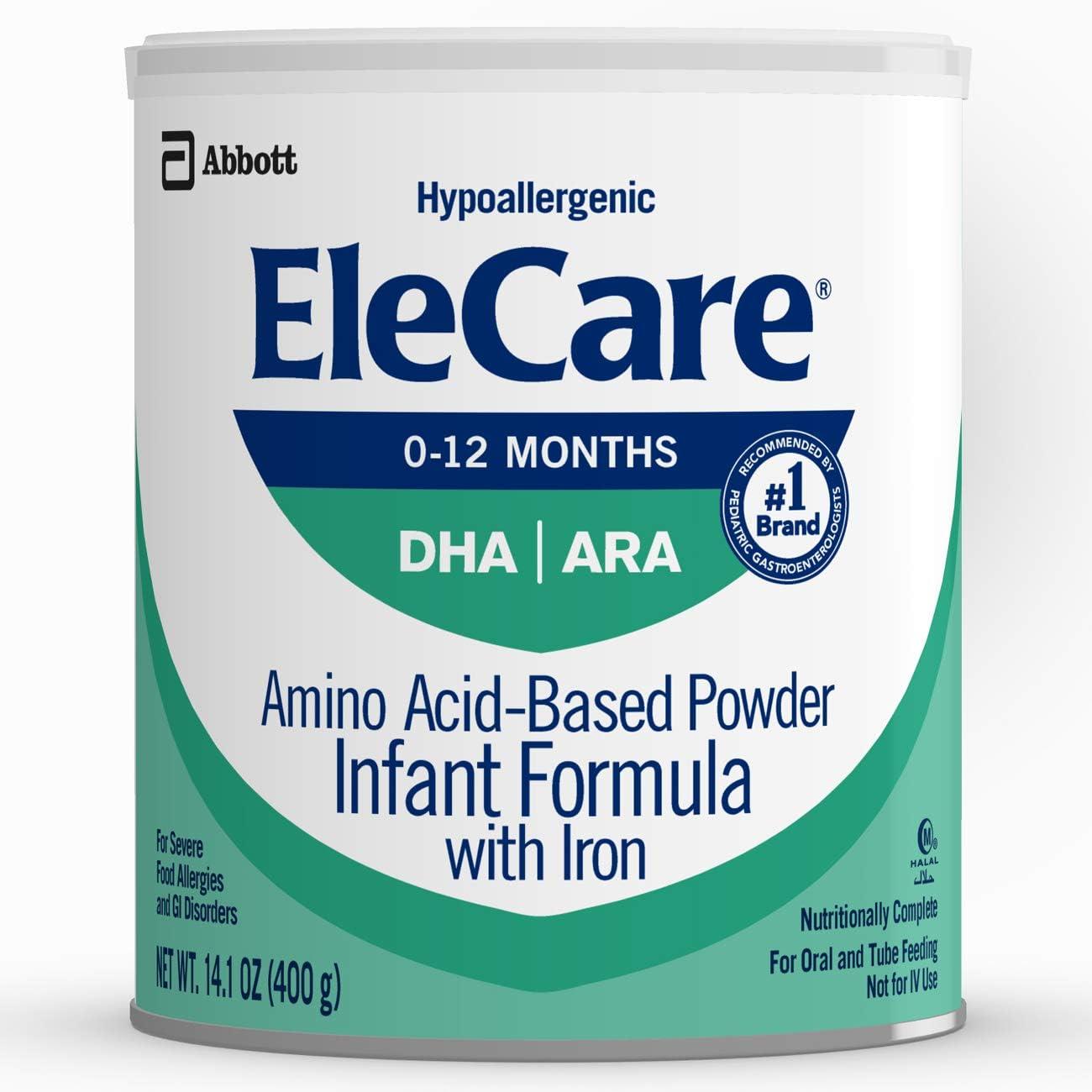 EleCare Hypoallergenic Formula Complete Severe Fo Phoenix Super-cheap Mall For Nutrition