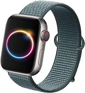 nylon loop apple watch band