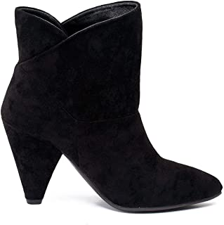Gc Shoes Women's Dion Low Kitten Heel Ankle Boot