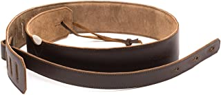 Saddleback Leather Co. Handmade Full Grain Leather Electric Acoustic Classical Bass Jazz Guitar Shoulder Strap Includes 100 Year Warranty