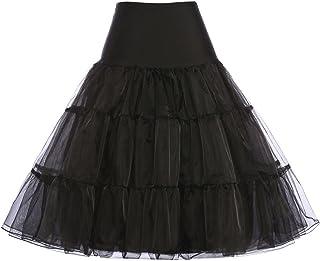 GRACE KARIN Women 50s Petticoat Skirts Tutu Crinoline...