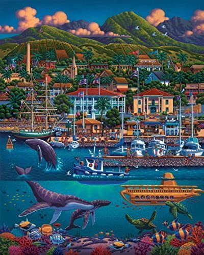 Dowdle Puzzle Maui Hawaii (500 pieces) by Dowdle Folk Art