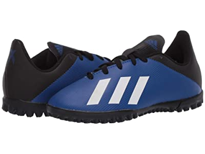 adidas Kids X 19.4 TF J Soccer (Little Kid/Big Kid) (Team Royal Blue/White/Black) Kids Shoes