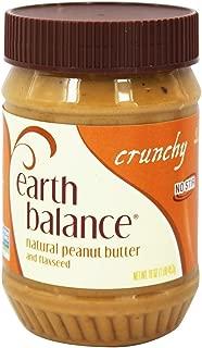 Earth Balance Crunchy Peanut Butter, 16 Ounce -- 12 per case.