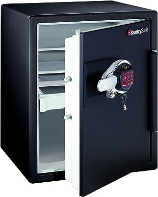 SentrySafe DS5781 Safe 1-Hour Fireproof Electronic Safe, 2 Cubic Feet, Black