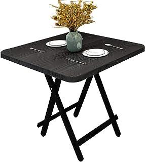 Class Centerfold Folding Table, 6-Feet, White - CLDNBM09 (Black wood grain, 60X60cm)