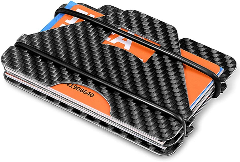 Geldbörsen Brieftasche Kohlefaser Brieftasche Männer dünne Karte Karte Karte Paket große Kapazität Einfache Multi-Funktions-Brieftasche Fahr-Dokument-Paket Damen-Geldbörsen B07K553YX8 a2b7b8