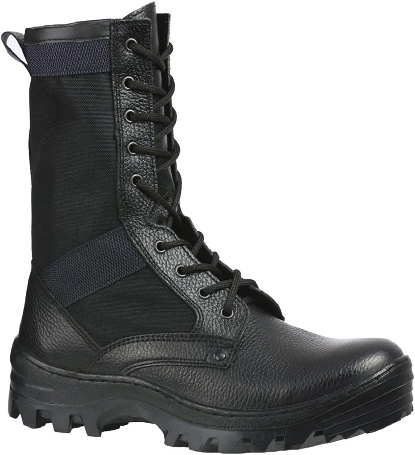 Byteks Authentic Ex-Soviet Tactical Duty Hiking SWAT Boots (Tropic 716) Made in Belarus. Black