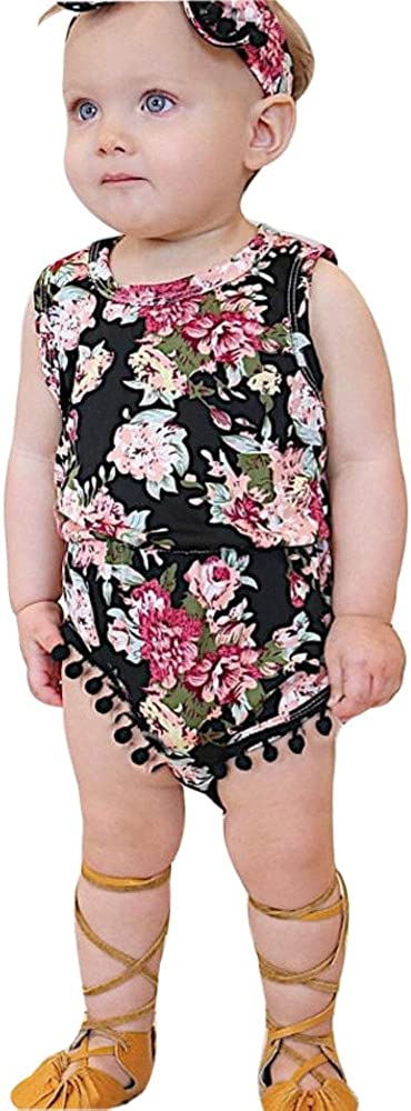 Girls Clothes Outfits Fashion Cute Max 60% OFF excellence Jumpsuit Romper Floral Sunsu