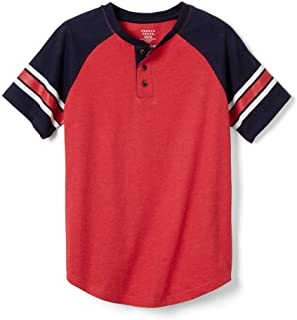 Boys' Short Sleeve Henley T-Shirt