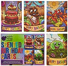 scratch and sniff birthday cards