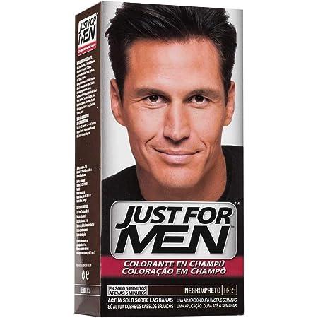 JUST FOR MEN tinte para hombre Negro caja 1 ud: Amazon.es ...
