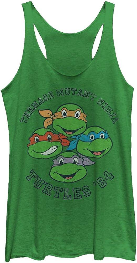 Women's Teenage Mutant Ninja Ranking TOP18 Turtles Tank supreme Group To Racerback '84