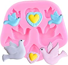 Cake Mould Pigeon Bird Shape Silicone Mold Fondant Chocolate Soft Clay Molds DIY Party Cake Decorating Tools Kitchen Baking Candy Moulds-