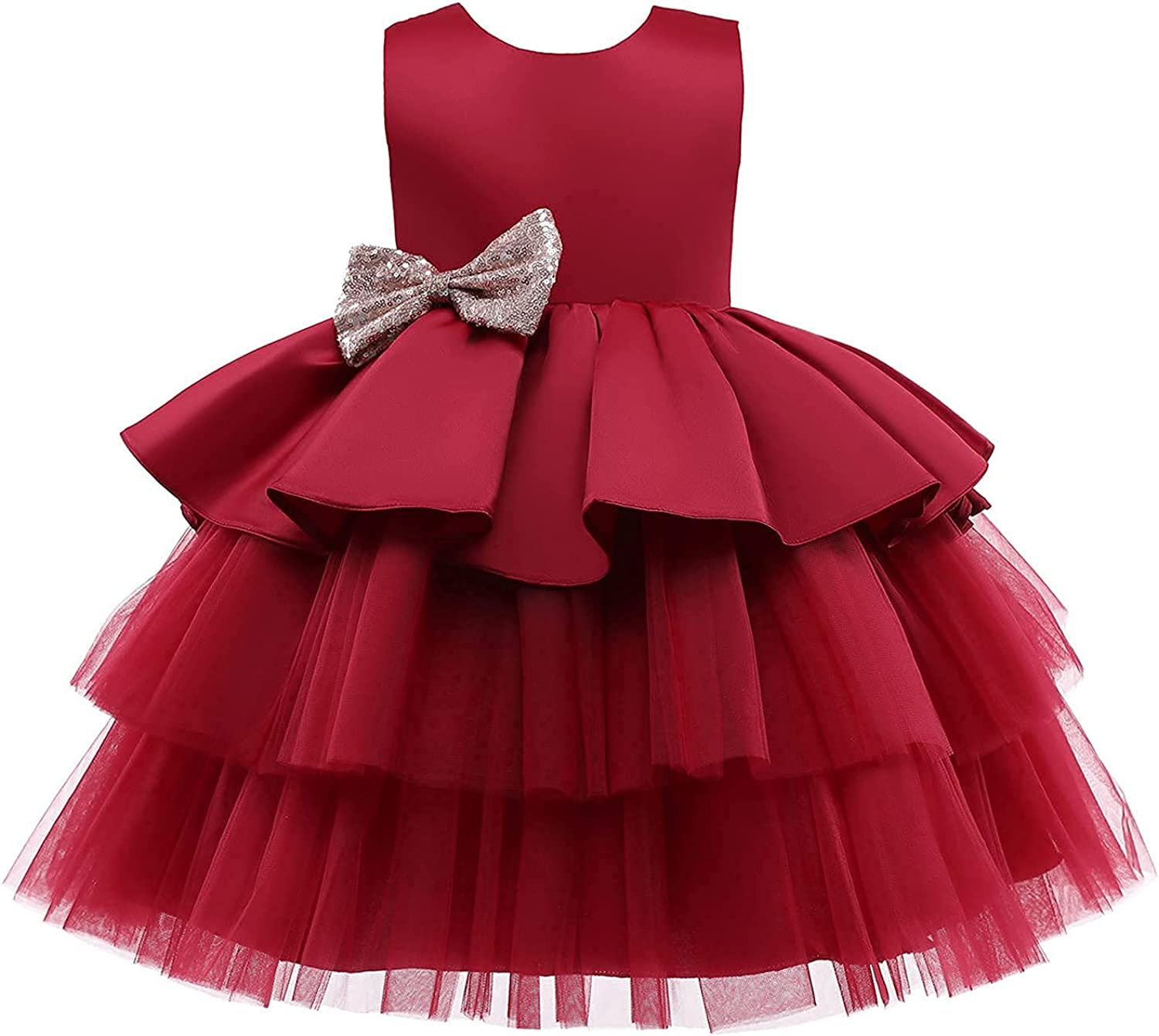 Nileafes Genuine Free Shipping Toddler Baby Girls Dress Tutu Dresses High quality Party Dr Princess