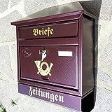 Naturholz-Schreinermeister Großer Briefkasten