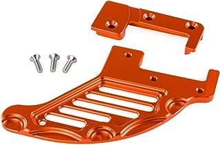 Rear Brake Disc Guard For Sherco SE-R SER SEF-R SEFR 250 350 450 2013 2014 2015 2016 2017 Motorcycle Brake Discs Rotor Guard (Orange)