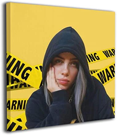 """Magic Gathering Billie & Eilish Custom Canvas Prints with Personalized Canvas Pictures for Living Room Bedroom Office Compact Smooth and Flat, 12""""x12"""""""