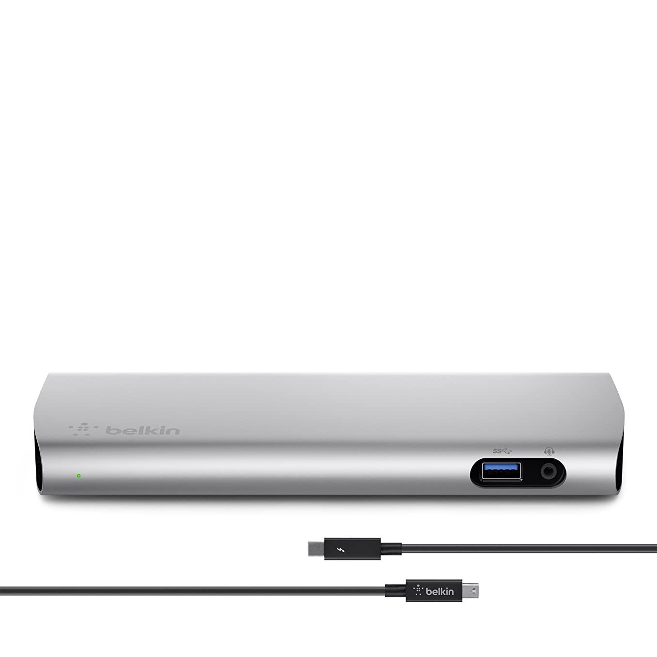 Belkin Thunderbolt 2 Express HD Dock with 1-Meter Thunderbolt Data Transfer Cable, Mac and PC Compatible (F4U085tt)