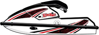 Exotic Signs Kawasaki Jet Ski 650 SX Graphic Kit, Flame Pin Strip - EK0016K650