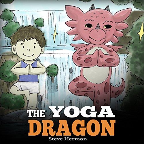 The Yoga Dragon audiobook cover art