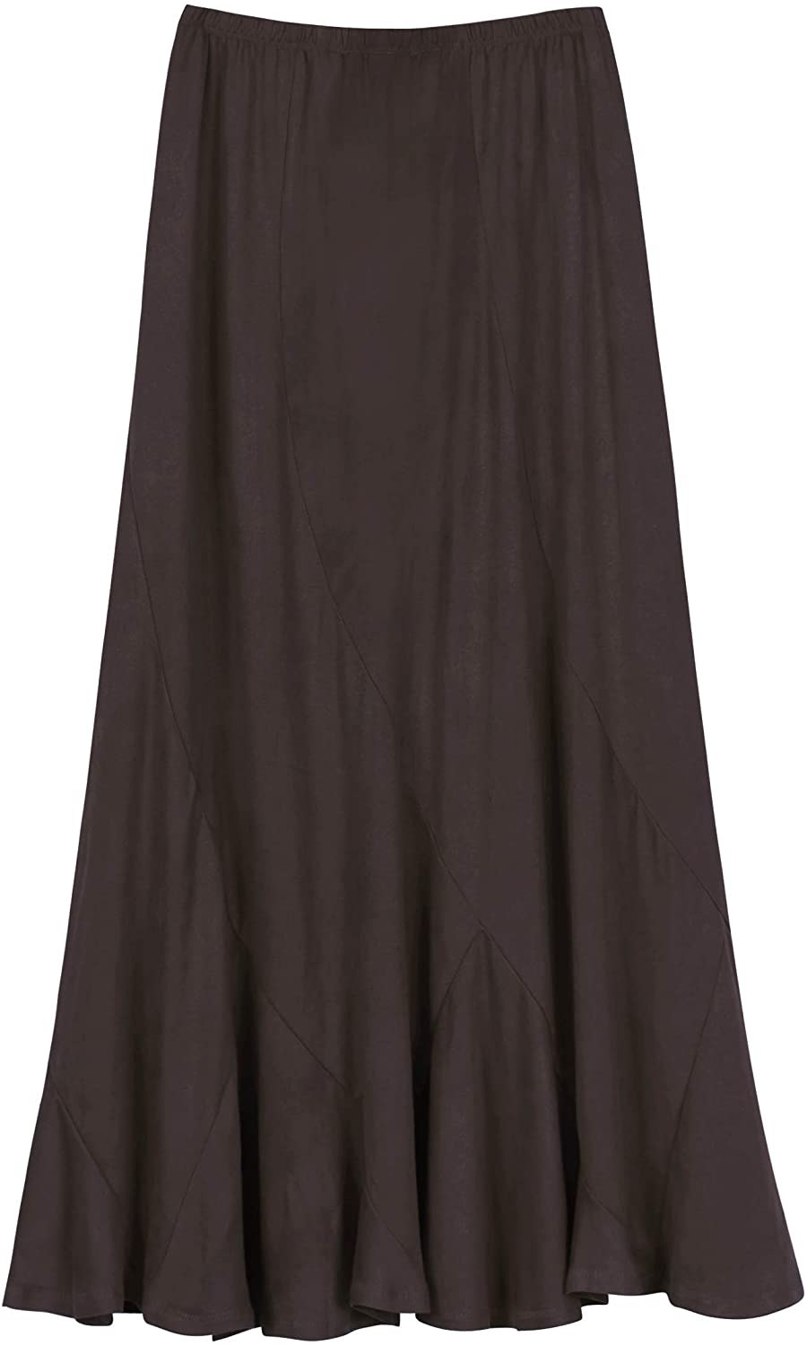 Easy-to-use Urban CoCo Women's Vintage Elastic A-Line Waist Midi Long Gifts Skirt